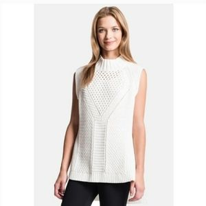 1. State sweater Mock Neck Sweater Vest